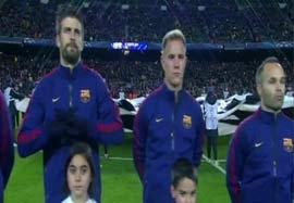 حواشی بازی بارسلونا – پاریسسنتژرمن