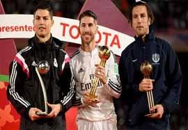 مراسم اهدای جوایز بهترین بازیکنان جام باشگاههای جهان