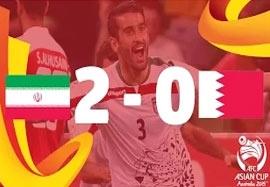 ایران ۲-۰ بحرین (گزارشگر انگلیسی)