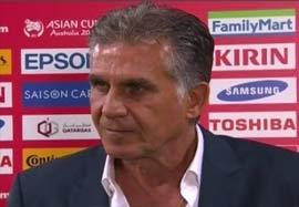 مصاحبه کیروش بعد از بازی با بحرین