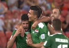 اردن ۰-۱ عراق