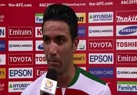 مصاحبه نکونام و تیموریان بعد بازی امارات