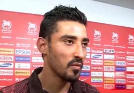 مصاحبه قوچان نژاد بعد بازی با امارات