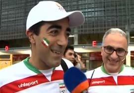 حال و هوای ایرانیان قبل بازی با امارات در استرالیا