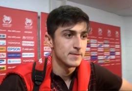 مصاحبه بازیکنان تیم ملی بعد بازی با امارات