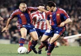 بارسلونا ۵-۴ اتلتیکومادرید (سال ۱۹۹۷)