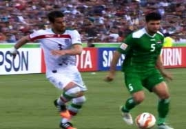 ایران ۳-۳ عراق (خلاصه بازی)