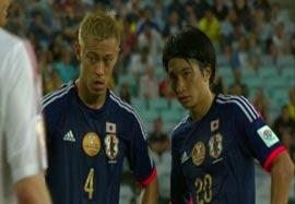 ژاپن ۱-۱ امارات (خلاصه بازی)