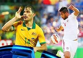 پیش بازی استرالیا-امارات