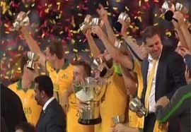 استرالیا ۲-۱ کرهجنوبی+جشن قهرمانی (گزارش انگلیسی)
