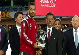 علی مبخوت آقای گل جام ملت های آسیا ۲۰۱۵