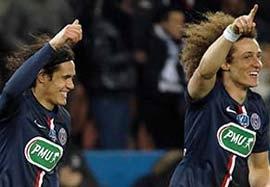 پاریسسنتژرمن ۲-۰ موناکو (گلهای بازی)