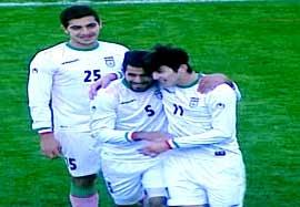 ایران ۵-۰ نپال