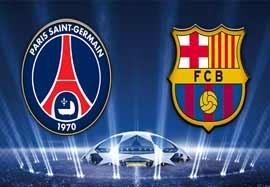 پیش بازی بارسلونا - پاریس سنت ژرمن