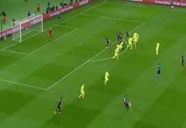 آفساید گیری هوشمندانه بازیکنان بارسلونا