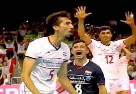 ۵ فریب برتر هفته لیگ جهانی والیبال ۲۰۱۵