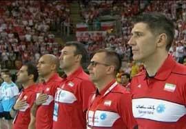 پیش بازی دوم والیبال ایران-لهستان