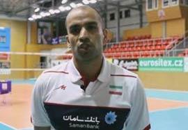 محمدیراد از وضعیت تیم در آستانه بازی لهستان میگوید