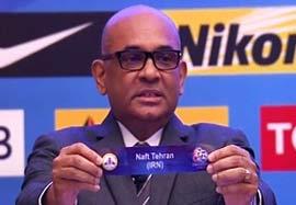 مراسم قرعه کشی مرحله یک چهارم نهایی لیگ قهرمانان آسیا
