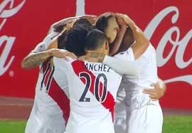 پرو ۱-۰ ونزوئلا