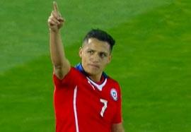 شیلی ۵-۰ بولیوی