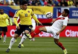کلمبیا ۰-۰ پرو