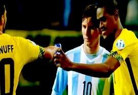 حواشی دیدنی از مرحله گروهی کوپا آمریکا ۲۰۱۵