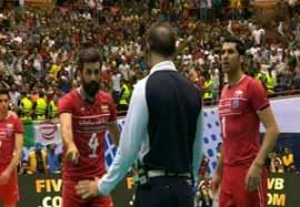 حواشی ست پایانی بازی ایران-لهستان