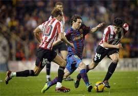 بارسلونا ۵-۱ اتلتیک بیلبائو (سوپر کاپ اسپانیا ۲۰۰۹)