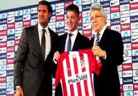 لوسیانو ویتو  بازیکن جدید اتلتیکو مادرید