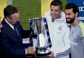 رونالدو بهترین بازیکن بازی رئال مادرید-منچسترسیتی