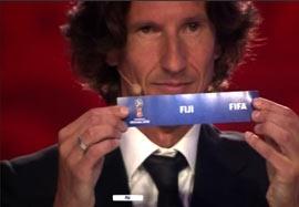 مراسم قرعه کشی مقدماتی جام جهانی۲۰۱۸-قاره اقیانوسیه