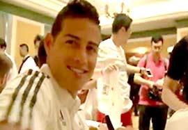 ملاقات بازیکنان رئال مادرید با هواداران چینی