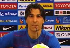 صحبت های شمسایی قبل بازی با نماینده امارات