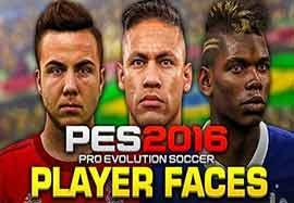 چهره های طبیعی بازیکنان در PES 2016