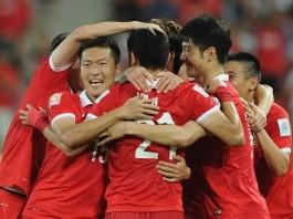 چین ۱-۱ ژاپن (گلهای بازی)