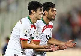 ایران ۶-۰ گوام