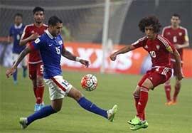 امارات ۱۰-۰ مالزی (درخشش عمر عبدالرحمان)