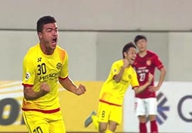 گلهای برتر مرحله یک چهارم نهایی لیگ قهرمانان آسیا