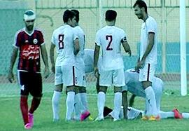 ایران جوان بوشهر ۱-۱ گیتی پسند