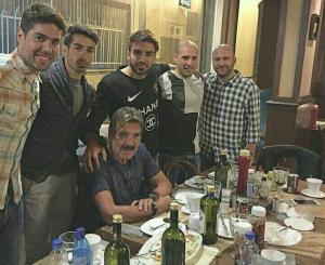 4 ساعت تا خداحافظی تونی از تبریز