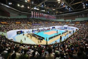 آماده سازی ورزشگاه آزادی برای لیگ ملت های والیبال