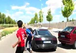جنون سرعت در بین ستارگان فوتبال