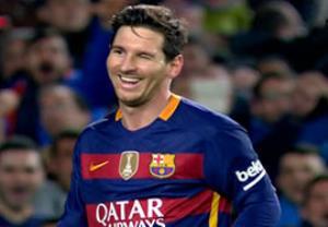 گل اول مسی؛ بارسلونا-والنسیا
