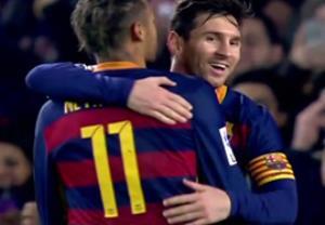 گل سوم مسی؛ بارسلونا-والنسیا