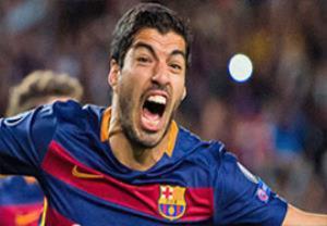 گل سوم سوارز؛ بارسلونا-والنسیا