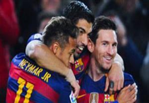 بارسلونا 7-0 والنسیا (بازی فوق العاده مسی و سوارز)