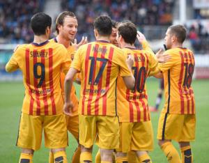 پیش بازی بارسلونا - ختافه
