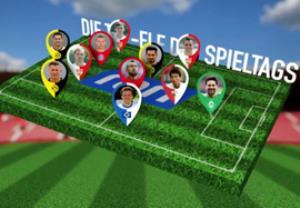 تیم منتخب هفته 25 بوندسلیگا