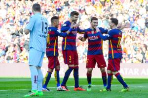 پیروزی پرگل بارسلونا برابر ختافه